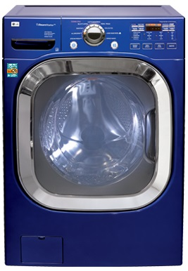 8.27.15 Washing Machines Image LG Blue Machine
