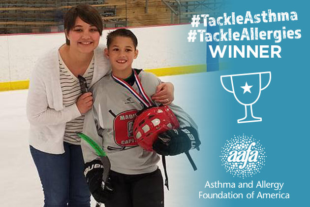 avery hockey tackle asthma winner blog title