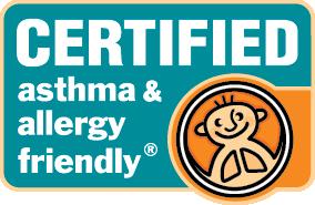 Asthma & Allergy Friendly Certification Program Logo
