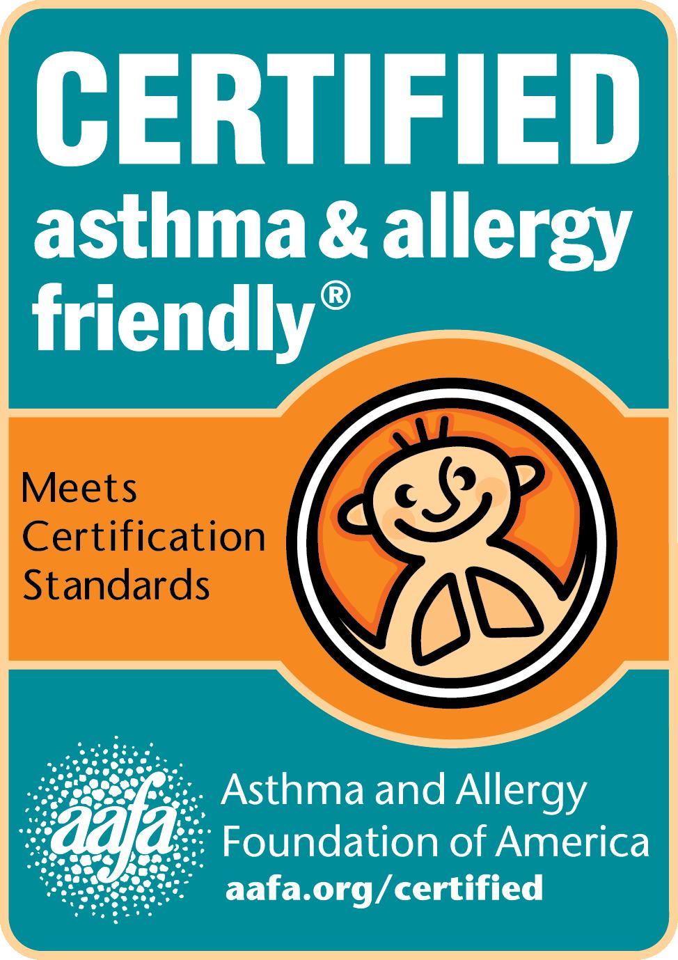 Asthma Allergy Friendly Certification Program